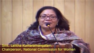 Trafficking of Women and Children   Keynote Address by Smt  Lalitha Kumaramangalam