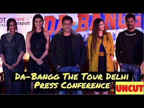 Salman Khan's Da-Bangg The Tour Delhi | Press Conference | Sonakshi Sinha | Kriti Sanon | UNCUT