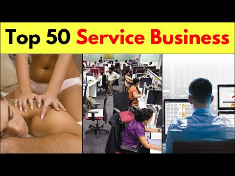 Top 50 Service Business Ideas || Small Business Ideas In India