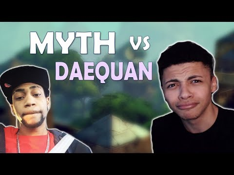 MYTH VS DAEQUAN | 1 Vs 1 | MYTH DISSTRACK |  - (Fortnite Battle Royale)