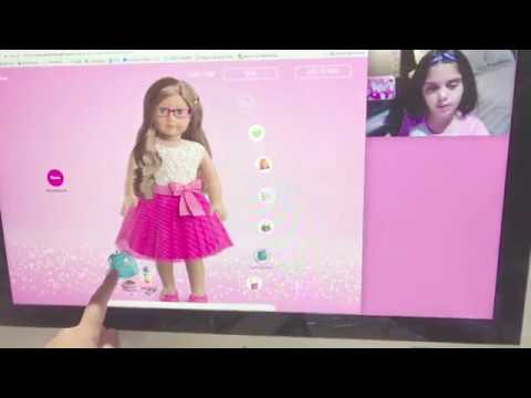 American Girl- Create Your Own Doll