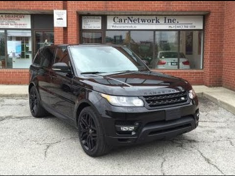 2015 Range Rover Sport SuperCharged Dynamic  CarNetwork