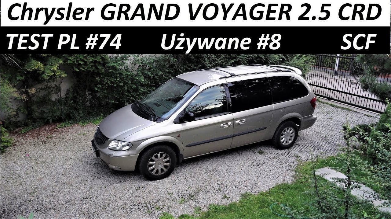 2003 chrysler grand voyager test u ywane 8 pl zapowied. Black Bedroom Furniture Sets. Home Design Ideas