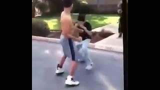 Boxer vs Street fighter K.O