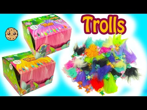 Dreamworks Trolls Blind Bag Boxes Series 1 + 2 Surprises