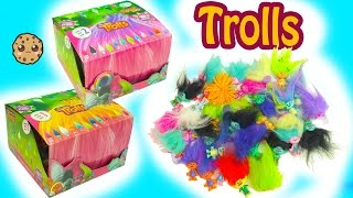 Dreamworks Trolls Blind Bag Boxes Series 1 + 2 Surprises - Poppy, Branch + More