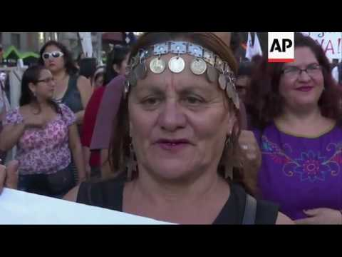 Thousands march on International Women's Day