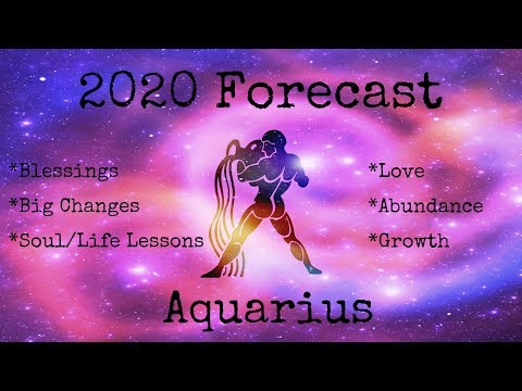 Aquarius ~ This is your year! ~ 2020 Tarot Forecast