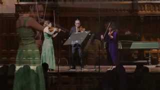 Kodaly: Serenade for Two Violins and Viola, Mvt III - ChamberFest Cleveland (2014)