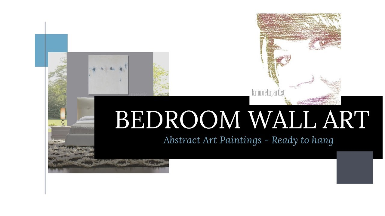 Bedroom Wall Art Abstract Art For Interior Design Youtube
