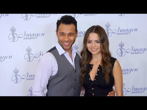 Corbin Bleu and Sasha Clements 32nd Annual n Awards Red Carpet