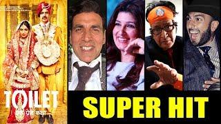 Bollywood Celebs Reaction On Akshay Kumar's Toilet Ek Prem Katha Declared Super HIT