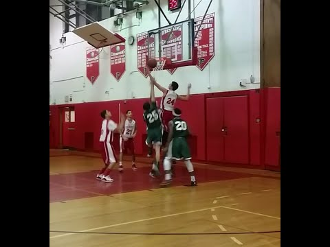 Dominick Arcodia #24 Valley Stream South High School Sophomore Year JV Basketball Highlights