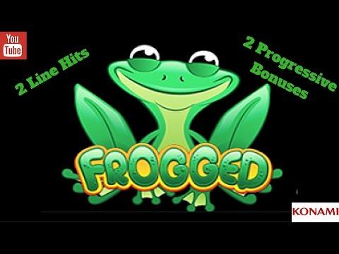 ( 2nd Attempt ) Konami - Frogger : 2 Progressive Bonuses & 2 Line Hits