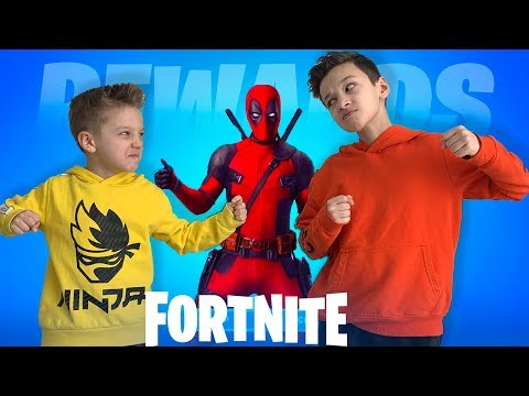 Скин Deadpool Fortnite. Артур и Давид 6- летний Фортнайтер )))