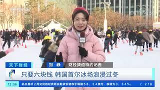[天下财经]只要六块钱 韩国首尔冰场浪漫过冬| CCTV财经
