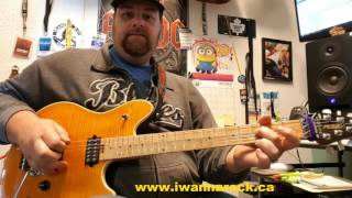 Drop Dead Legs Van Halen guitar lesson