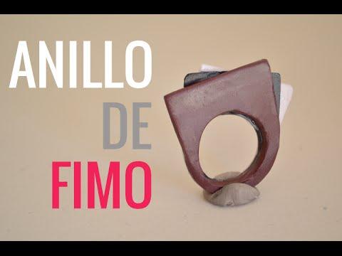 7fc10ef098ad Cómo hacer un anillo moderno muy fácil con Fimo (arcilla polimérica) #11