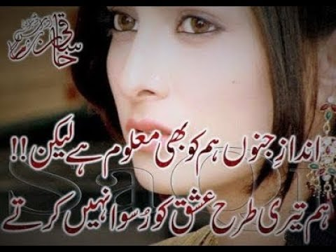 Ishq 2 Lines Best Poetry Collection 2017|Part-41|Urdu/Hindi Poetry|By Hafiz Tariq Ali|