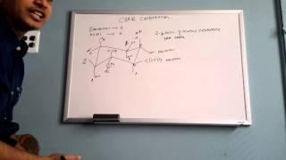Chair conformation Cyclo hexane.