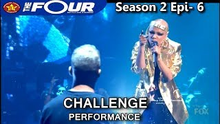 Download lagu Sharaya J raps I Don t With You Challenge Performance The Four Season 2 Ep 6 S2E6