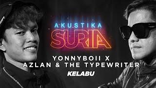 Download lagu Yonnyboii X Azlan & The Typewriter - Kelabu (LIVE) #AkustikaSuria