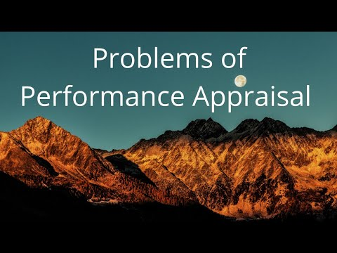 problems-of-performance-appraisal-|-human-resource-management