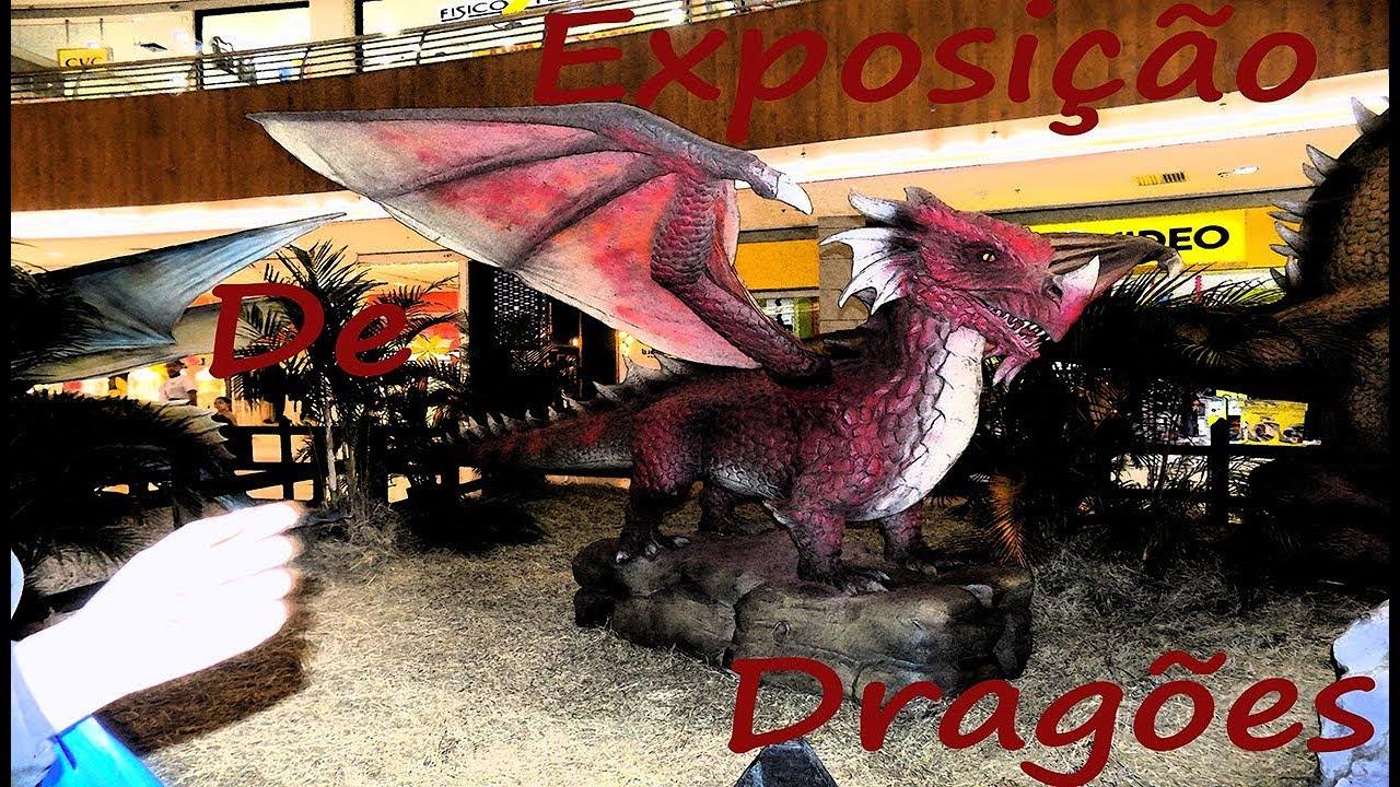 Dragões Para Sempre Complete exposição internacional de dragões no partage shopping são gonçalo