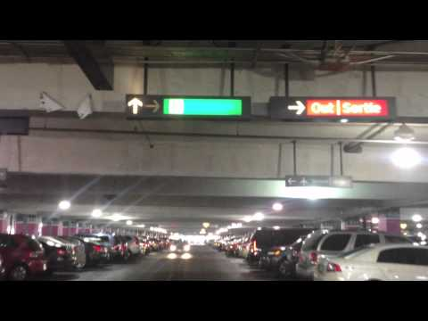 Driving to Toronto Pearson International Airport (parking)