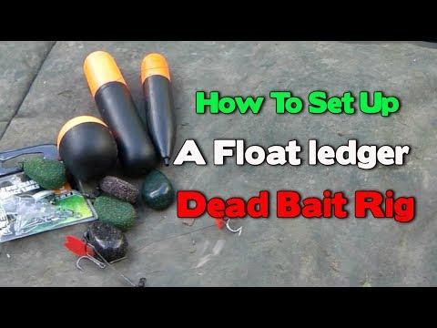 Float Ledger Set Up For Pike Fishing A Dead Bait