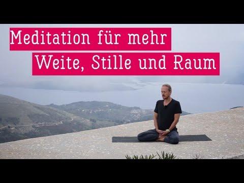 Meditation für mehr Weite, Stille und Raum | Patrick Broome