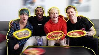 TURNING MY BEST FRIENDS INTO VEGANS w/ Sam, Colby and Mike