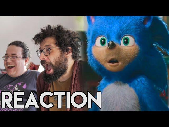 Mickael J et lErmite Moderne réagissent a la BA de Sonic le film