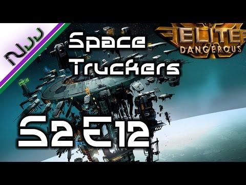 Elite Dangerous - Space Truckers S2 E12 - Leonard Nimoy RIP