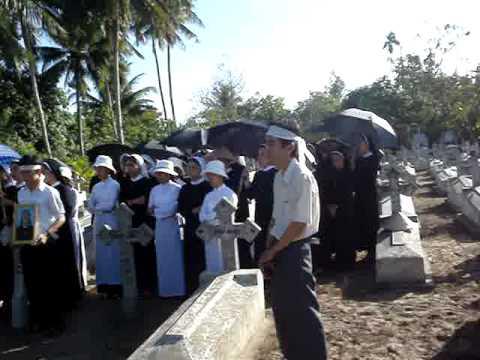 Đám tang dì Matta Nguyễn Thị Ngà_p15_Lời cảm tạ của gia đình