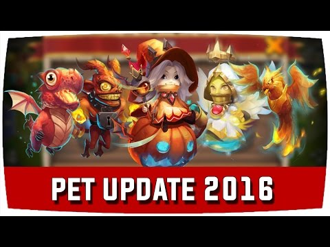 Castle Clash | HALLOWEEN/PET UPDATE 2016 ♦ Schloss Konflikt [Deutsch]