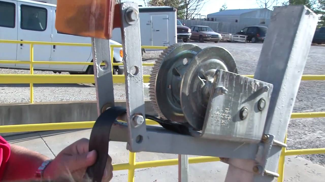 small resolution of trailer winch strap replacement