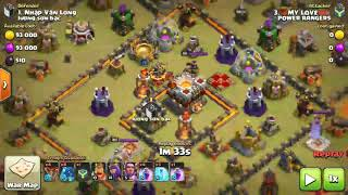 "Electric Dragon War Attack : || ""Power Rangers Coc"" Clan 