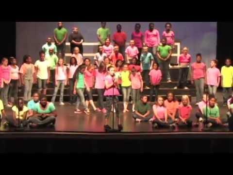 """Savannah sings """"Opportunity"""" - Calhoun Academy of the Arts 2015"""