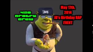 Brogre JD's Birthday RAP EVENT