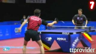 Best Table Tennis Shots of 2011 (Xmas Edition) thumbnail