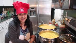 Cooking Food For 60 People | Indian (NRI) Mom | Simple Living Wise Thinking