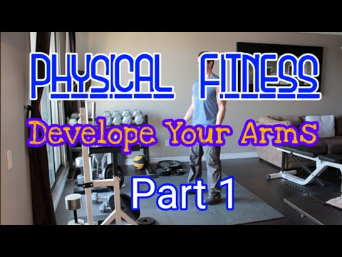Health & Physical Fitness Tutorial Develope your Arms Part 1 thumbnail