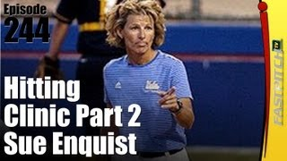 Softball Hitting Clinic Part 2 - Sue Enquist