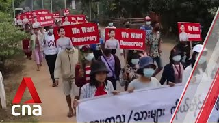 Armed rebel groups in Myanmar threaten retaliation if bloodshed continues
