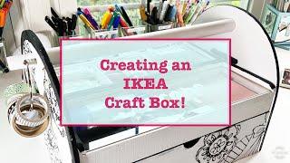 Creating an IKEA Craft Box!