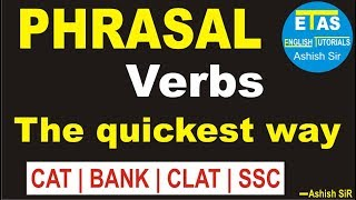 Phrasal Verbs- The quickest way