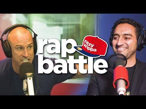 Waleed Aly drops bars in a rap battle