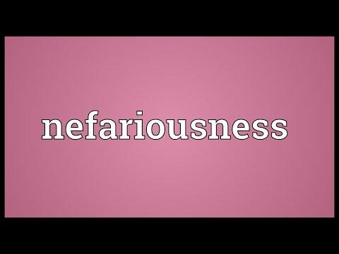 Header of nefariousness