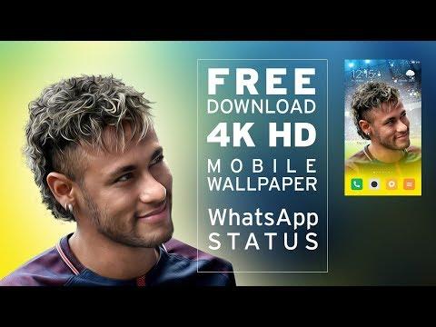 NEYMAR JR 4K HD MOBILE WALLPAPER   WhatsApp STATUS   WORLD CUP 2018   BRAZIL FANS  